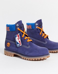 Премиум-ботинки высотой 6 дюймов Timberland-Синий