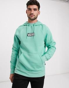 Зеленое худи Vans-Зеленый