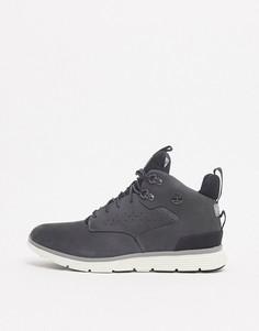 Серые походные ботинки чуккаTimberland-Серый