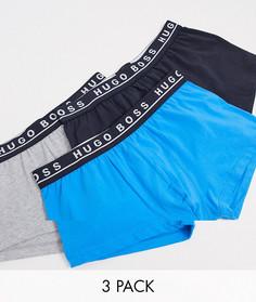Набор из 3 боксеров-брифов BOSS bodywear-Мульти