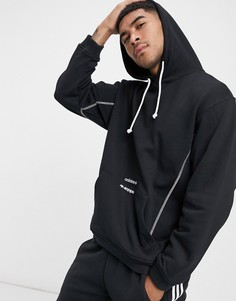 Худи черного цветас логотипомadidas Originals RYV-Черный