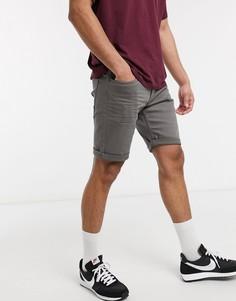 Серые шорты с 5 карманами Esprit-Серый