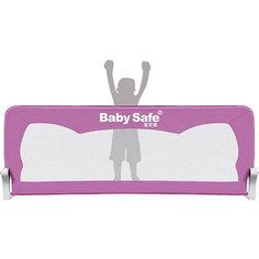 Барьер для кроватки Baby Safe Ушки, 120х66 розовый