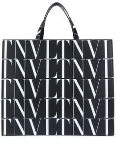 Valentino Garavani сумка-тоут с логотипом VLTN