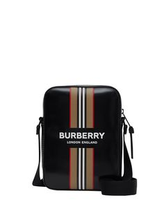 Burberry сумка через плечо с полоской Icon Stripe