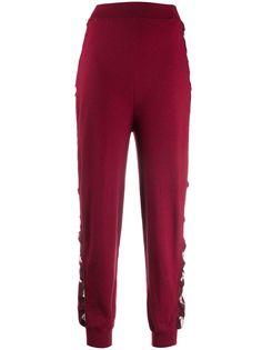 Stella McCartney спортивные брюки со вставками по бокам