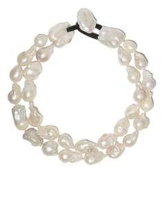 Monies ожерелье с жемчугом