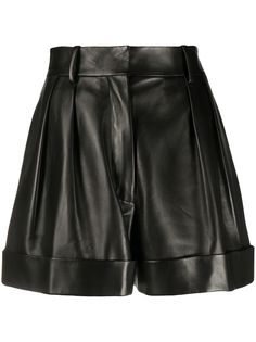 Valentino шорты с отворотами