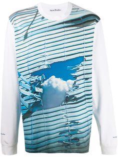 Acne Studios футболка с длинными рукавами