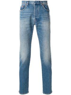 Valentino джинсы прямого кроя