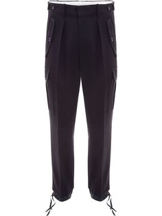 JW Anderson брюки карго с эластичными манжетами