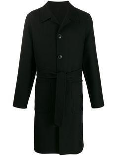 AMI пальто с поясом