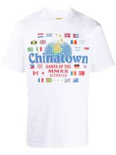 Chinatown Market футболка с принтом
