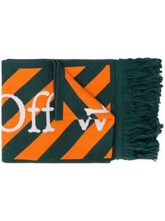 Off-White шарф с принтом