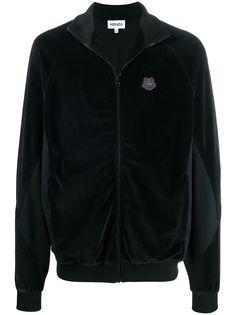 Kenzo куртка с нашивкой-логотипом