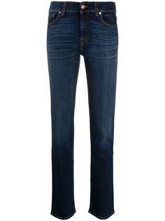 7 For All Mankind прямые джинсы средней посадки