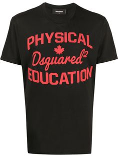 Dsquared2 футболка Physical Education с принтом