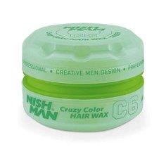 NISH MAN Воск C6 Green Hair