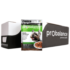Влажный корм для собак ProBalance 2 уп. х 25шт. х 100г
