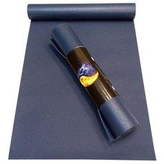 Коврик (ДхШхТ) 173х60х0.45 см AKO YOGA Yin-Yang Studio синий однотонный