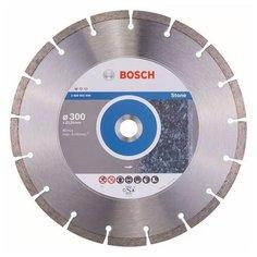 Диск алмазный отрезной 300x22.23 BOSCH Standard for Stone 2608602698 1 шт.