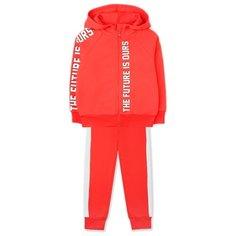 Комплект одежды crockid размер 92, красный