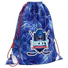 ErichKrause Мешок для обуви Hockey (48251) синий/белый/красный