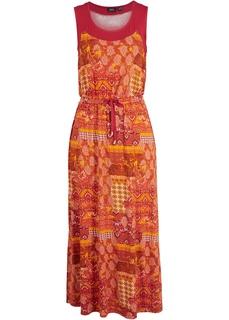 Платье миди с разрезом Bonprix