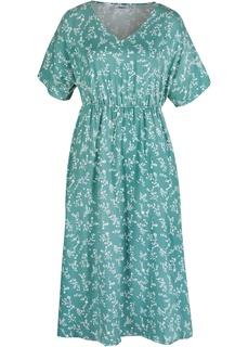 Платье миди с принтом Bonprix