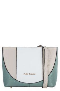 Маленькая кожаная сумка со съемным плечевым ремнем Fiato Dream