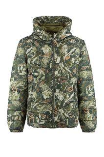 Демисезонная куртка с капюшоном Guess