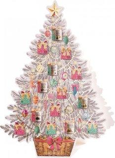 Новогодняя елка Феникс-Презент Адвент-календарь настольная