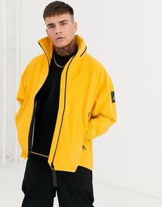 Желтая куртка adidas Running terrex myshelter-Желтый