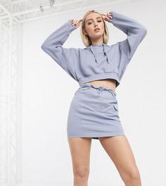 Лавандовая юбка со светоотражающей отделкойReebok эксклюзивно дляASOS-Фиолетовый
