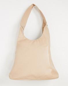 Бежевая сумка-тоут Glamorous-Бежевый