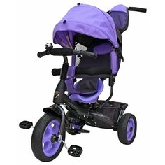 Трехколесный велосипед Galaxy Лучик Vivat фиолетовый