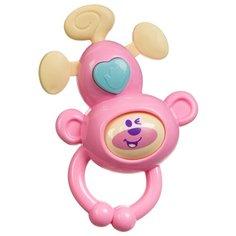 Погремушка BONDIBON Baby You Обезьянка ВВ3214 розовый