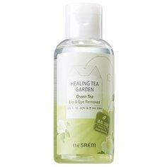 The Saem средство для снятия макияжа с глаз и губ с зеленым чаем Healing Tea Garden, 150 мл