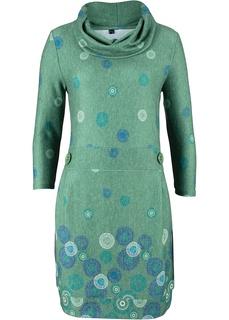 Платье из ворсовой ткани Bonprix