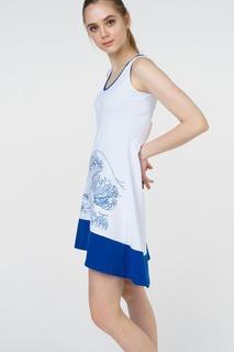 Платье женское Grishko AL - 3076 белое 42 RU