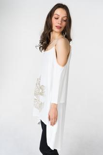 Платье женское Grishko AL - 3464 бежевое 44 RU