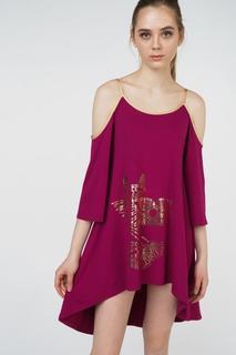 Платье женское Grishko AL - 3464 бордовое 44 RU