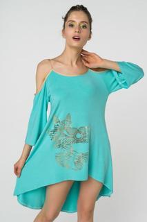 Платье женское Grishko AL - 3464 бирюзовое 44 RU