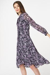 Платье женское adL 12433604000 фиолетовое 46 RU