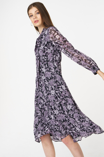Платье женское adL 12433604000 фиолетовое 44 RU