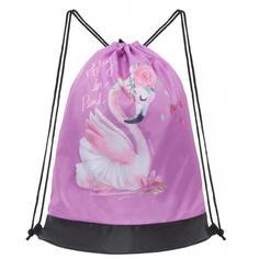 Мешок для обуви Grizzly OM-004 розовый