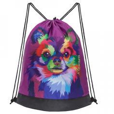 Мешок для обуви Grizzly OM-005 фиолетовый
