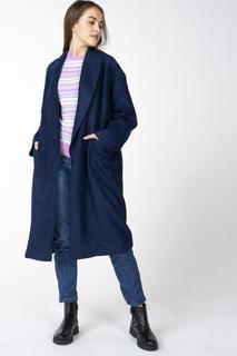 Пальто женское Incity 1.1.2.18.01.13.00160 синее 42 RU