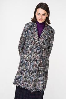 Пальто женское Incity 1.1.2.18.01.13.00306 разноцветное 46 RU