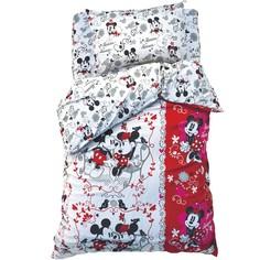 Постельное белье Disney Микки Маус и друзья Микки и Минни 1,5-спальное